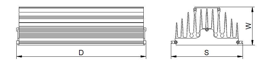 رسم الكشاف LED